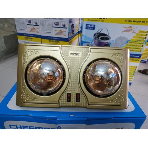 Đèn sưởi nhà tắm Chefman CM-612B ( 2 Bóng)