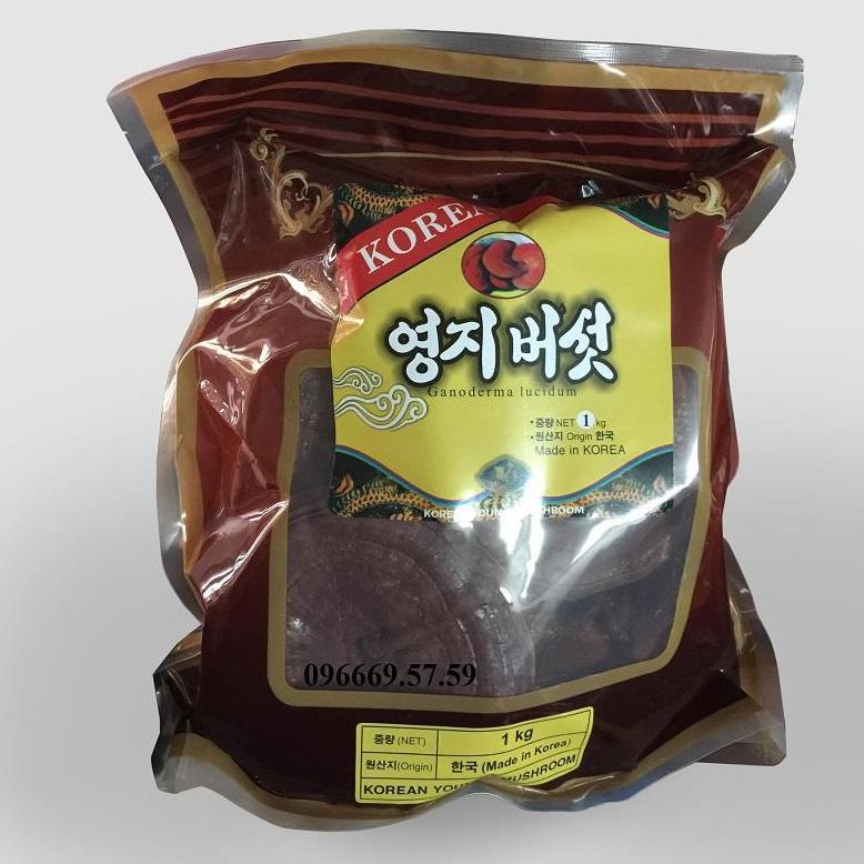 Nấm linh chi núi Hàn Quốc nhập khẩu
