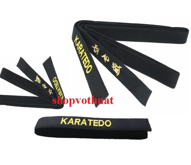 Đai đen Karate