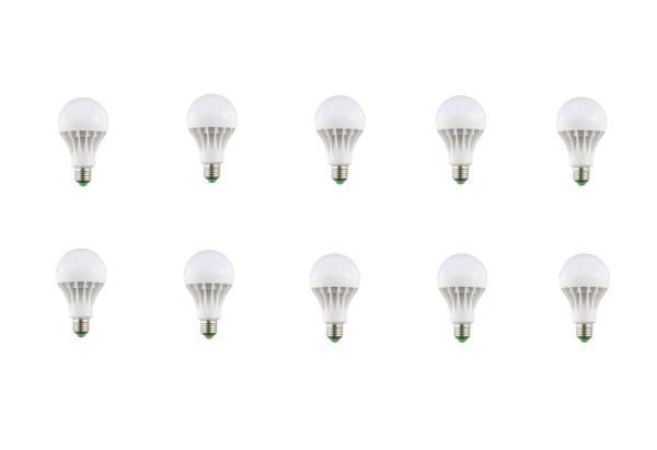 Bộ 10 bóng đèn LED nấm 12W (ánh sáng trắng)