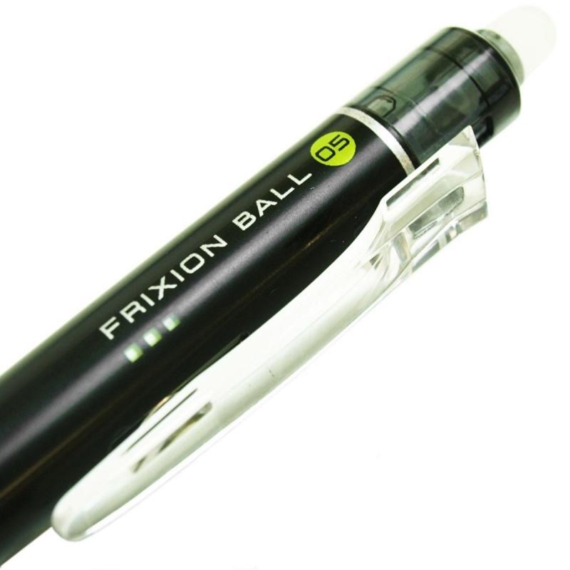 Mua Bút bi xóa được Frixion Pilot Ball Knock - Đầu mút xóa Nhiệt cỡ 0.5 ( Màu xanh ghi - Mẫu mới - Nội địa Nhật - Xách tay Japan )