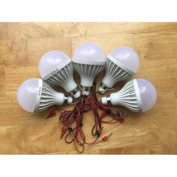 Bộ 5 bóng đèn led 12V-7W (Ánh sáng trắng)