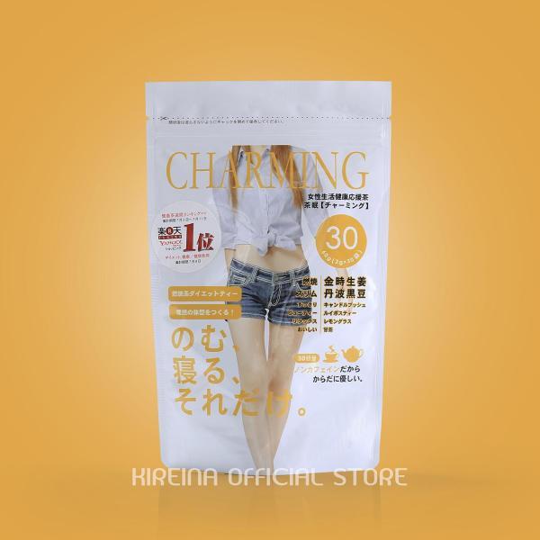 Trà giảm cân Charming Tea bán chạy số 1 Nhật Bản giá rẻ