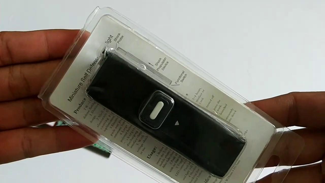 Hình ảnh Móc khóa đèn pin màu đen