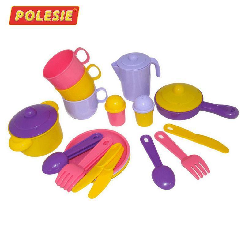 Bộ đồ chơi nấu ăn dành cho 3 người – Polesie Toys Nhiều màu