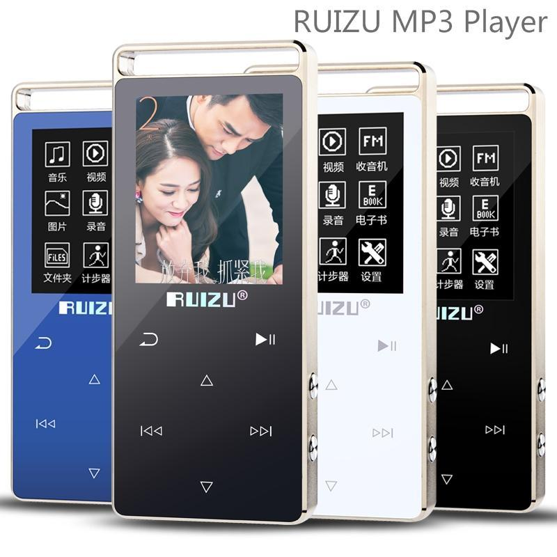 Máy nghe nhạc thể thao HiFi 2018 Ruizu D01 [Công ty nhập khẩu phân phối] - Bảo hành 12 tháng