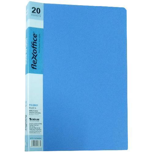 Mua Bìa 20 Lá A4 Flexoffice ( màu xanh nhạt)