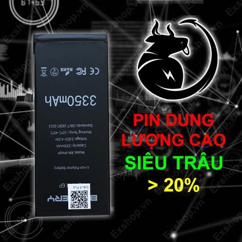 Pin Siêu Trâu EXPRO - PIN IPHONE 6S DUNG LƯỢNG CAO HƠN 20%