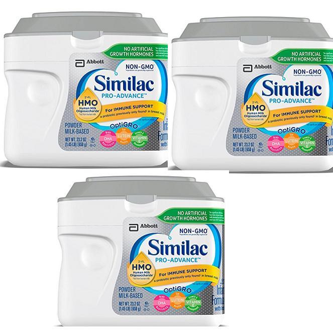 Giá Bán Combo 3 Hộp Sữa Similac Pro Advance Non Gmo Hmo Cho Be Từ 12 Thang 658 G Của Mỹ Mới Rẻ