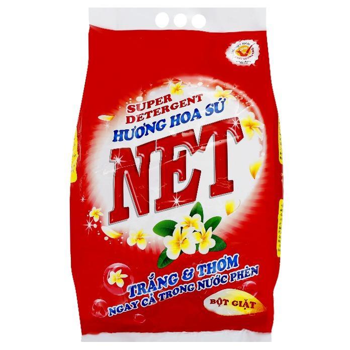 Bán Bột Giặt Net Hương Hoa Sứ 6Kg Netco