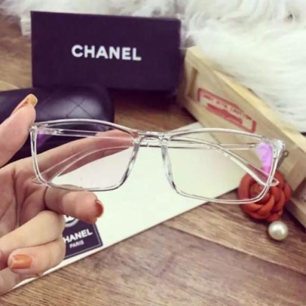 Giá bán Mắt kính gọng nhựa trong suốt phong cach thời trang