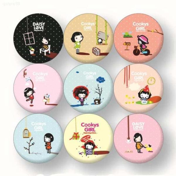 [Lấy mã giảm thêm 30%] Gương cầm tay mini phong cách Hàn Quốc nhập khẩu