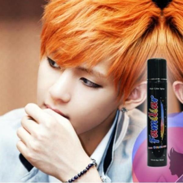 Keo xịt tóc màu Familiar 100ml - Màu A2 Vàng cam giá rẻ