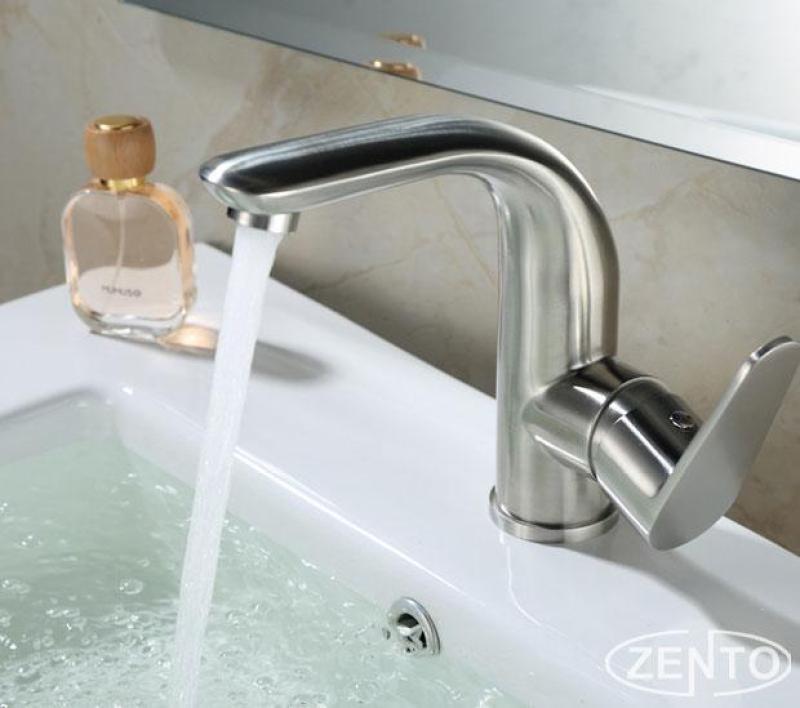 Vòi chậu rửa nóng lạnh inox 304 SUS3320