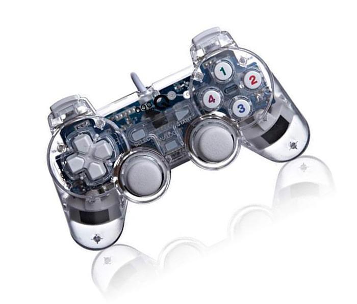 Hình ảnh Tay cầm chơi game cho máy tính trong suốt siêu bền