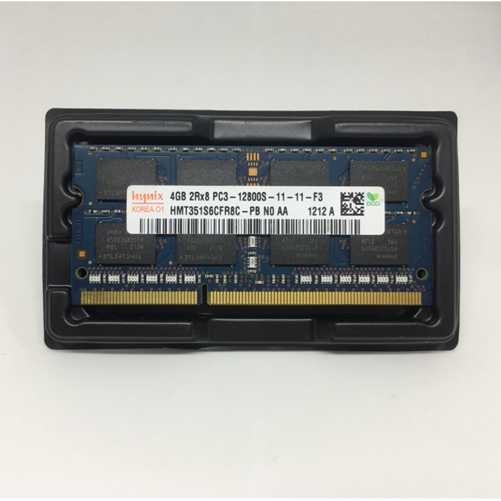 Hình ảnh Ram Laptop Hynix 4GB DDR3 PC3-10600S/12800S Bus 1333/1600
