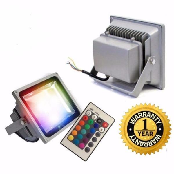 Đèn pha led 16 màu trang trí Spotlight 30w - bảo hành 12 tháng(có điều khiển)