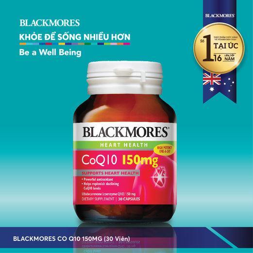 Thực phẩm bảo vệ sức khỏe Blackmores CoQ10 150mg
