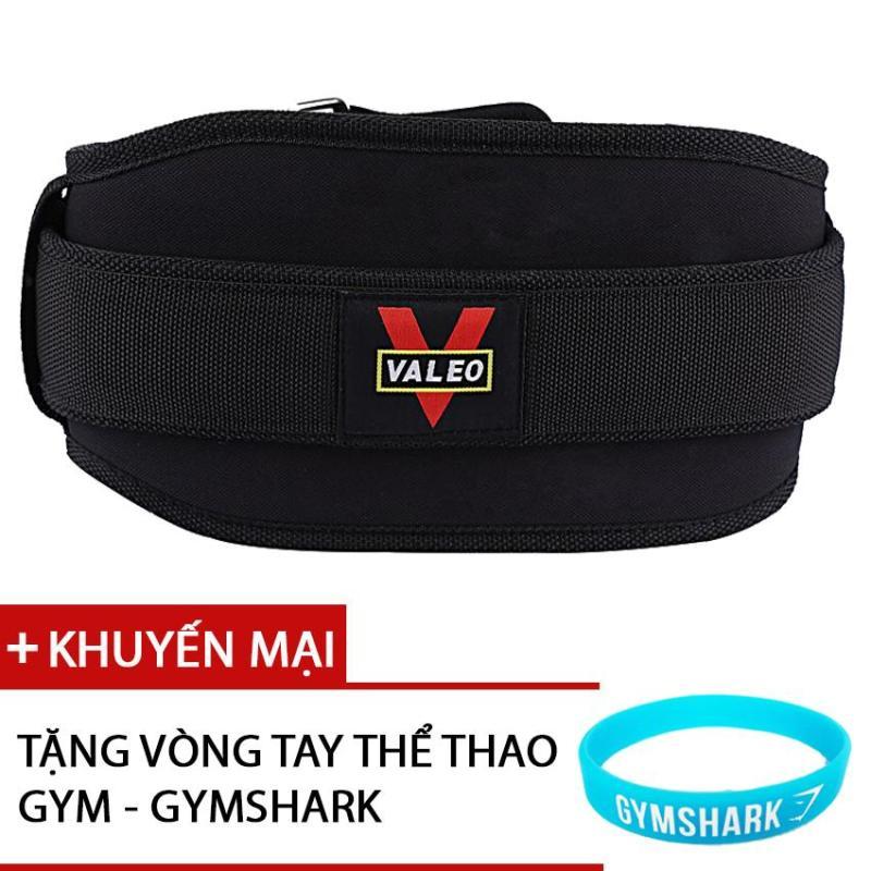 Đai quấn lưng tập thể hình (Tập Gym) cao cấp - VALEO- đai lưng mềm tập gym- đai lưng thể hình Tặng kèm vòng tay GYMSHARK
