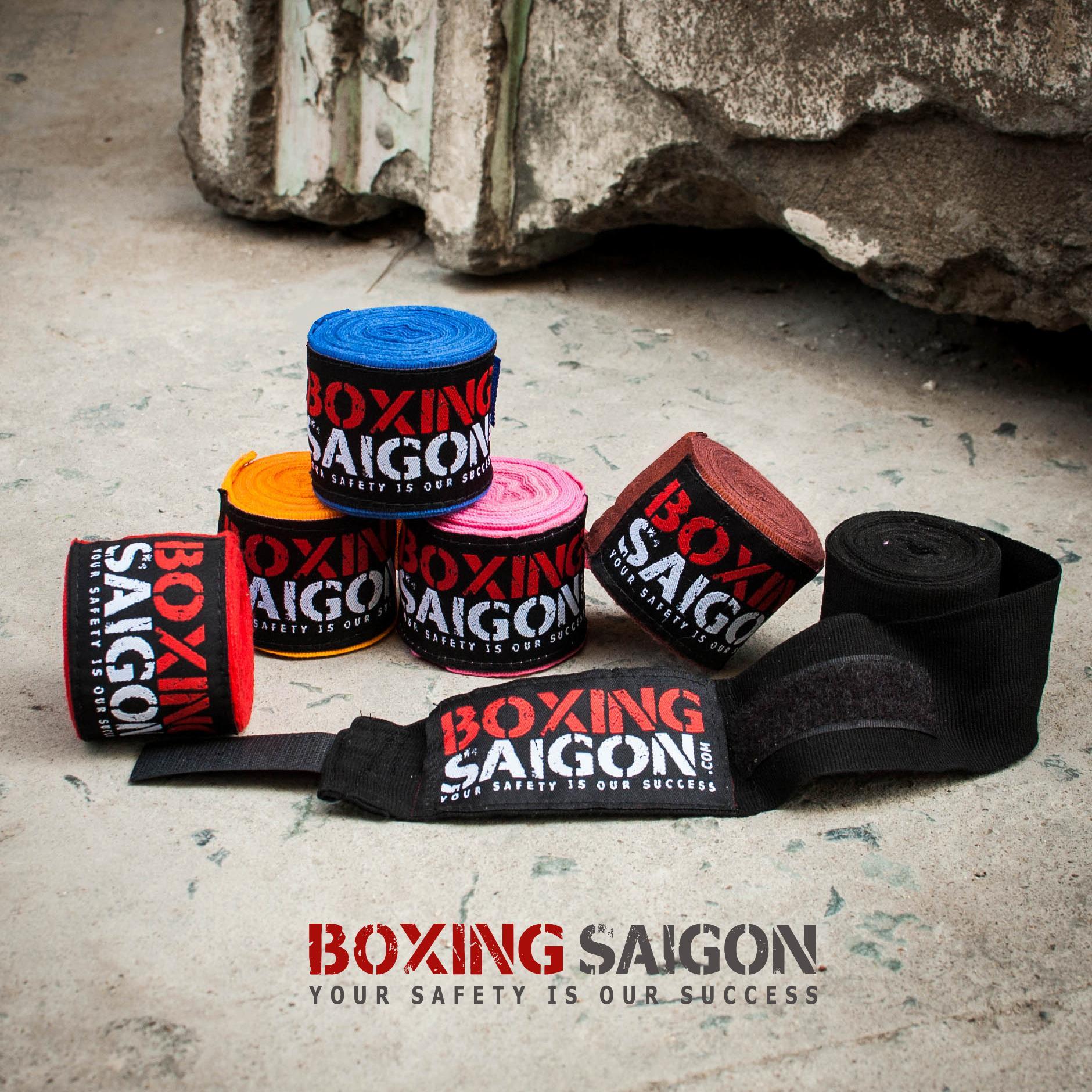 Hình ảnh Băng quấn tay Boxing Saigon 4.5m ( Vàng )