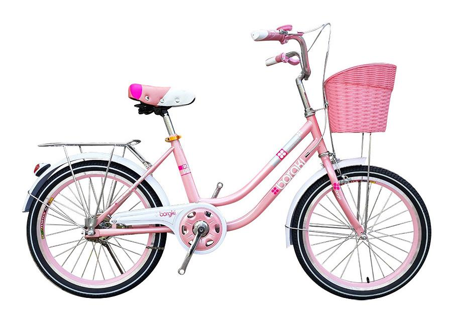 Xe đạp trẻ em Borgki Girl 20 Pink