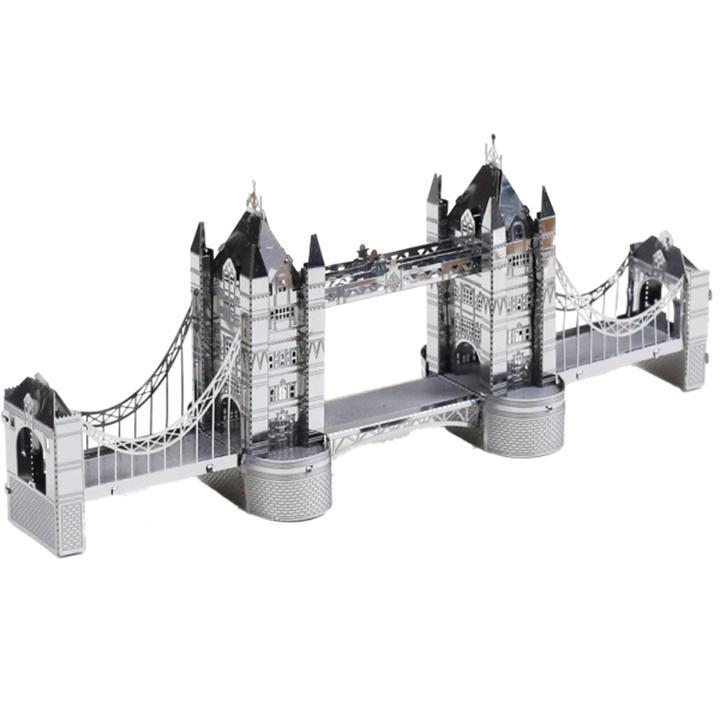 XEM VIDEO - Đồ Chơi Trẻ Em - Đồ Chơi Lắp Ghép Mô Hình 3D Bằng Thép Cầu London Bridge 09 Cùng Giá Khuyến Mãi Hot