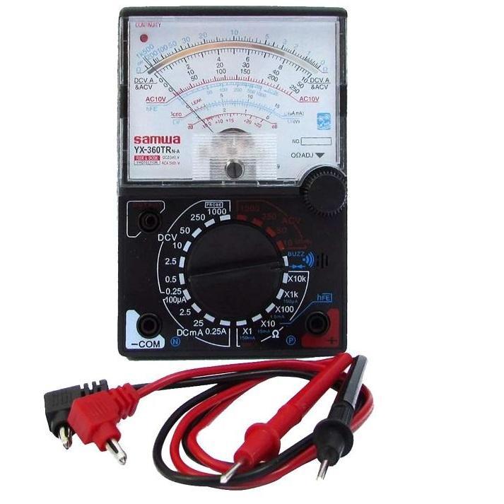Đồng hồ đo kim vạn năng YX-360TR VOM kèm pin , loa báo thông mạch( tặng kèm bin)