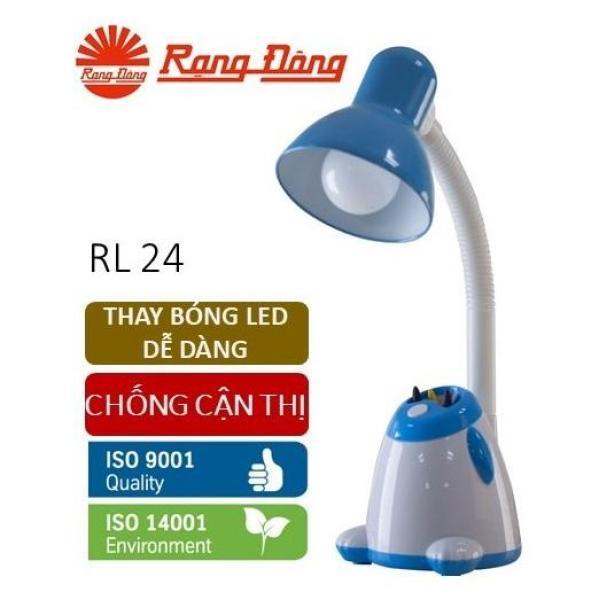 [Lấy mã giảm thêm 30%]Đèn bàn LED Rạng Đông 5W bảo vệ thị lực thay bóng dễ dàng không tia UV & cực tím Mới