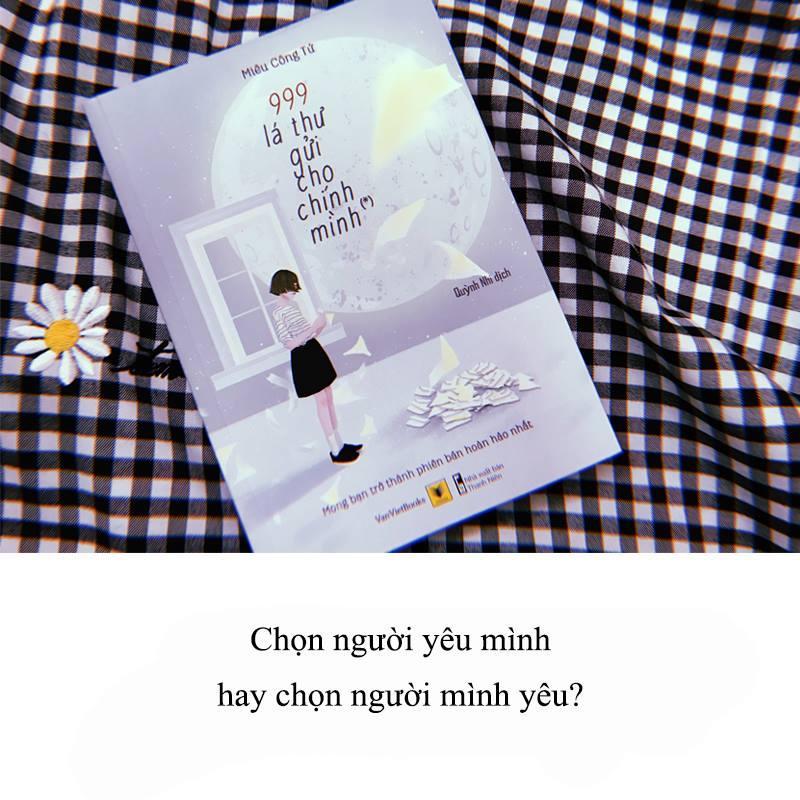 Mua 999 LÁ THƯ GỬI CHO CHÍNH MÌNH - Tặng Bookmark Kẹp Sách