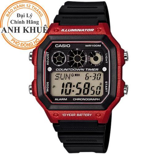 Nơi bán Đồng hồ nam dây nhựa Casio Anh Khuê AE-1300WH-4AVDF