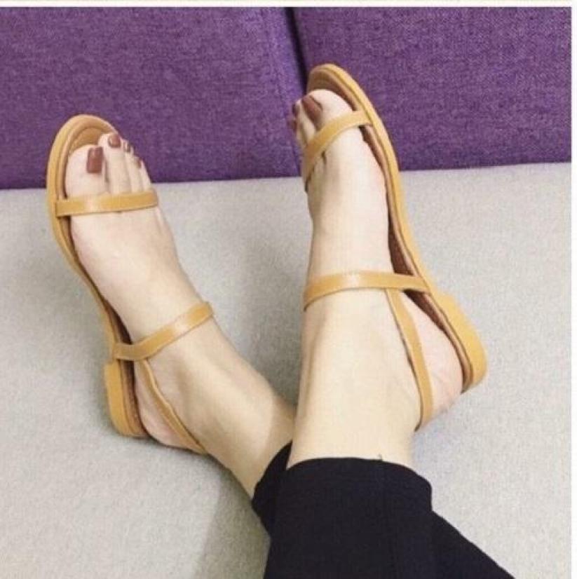 Giày MYS Sandal 2 dây 12 Ly đế cao su giá rẻ