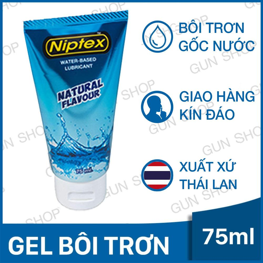 Hình ảnh Gel Bôi Trơn Niptex (Thái Lan) ( 75ml ) - [ Gunshop-EL01 ]