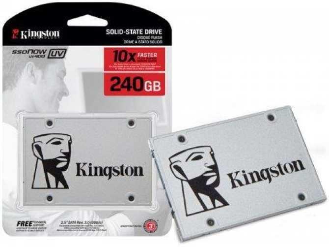 Hình ảnh Ổ CỨNG GẮN TRONG SSD 240GB KINGSTON UV400, SATA III FULL BOX, BẢO HÀNH 36 THÁNG
