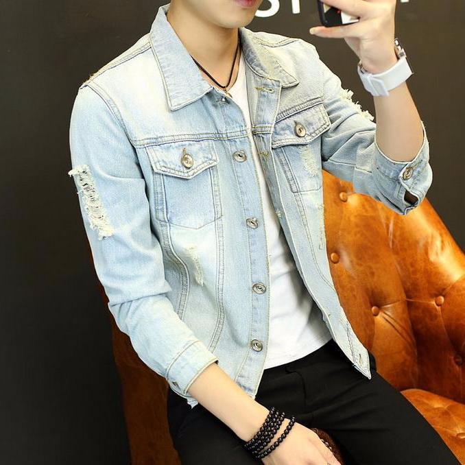 Áo Khoác Jeans Nam Phong Cách M502