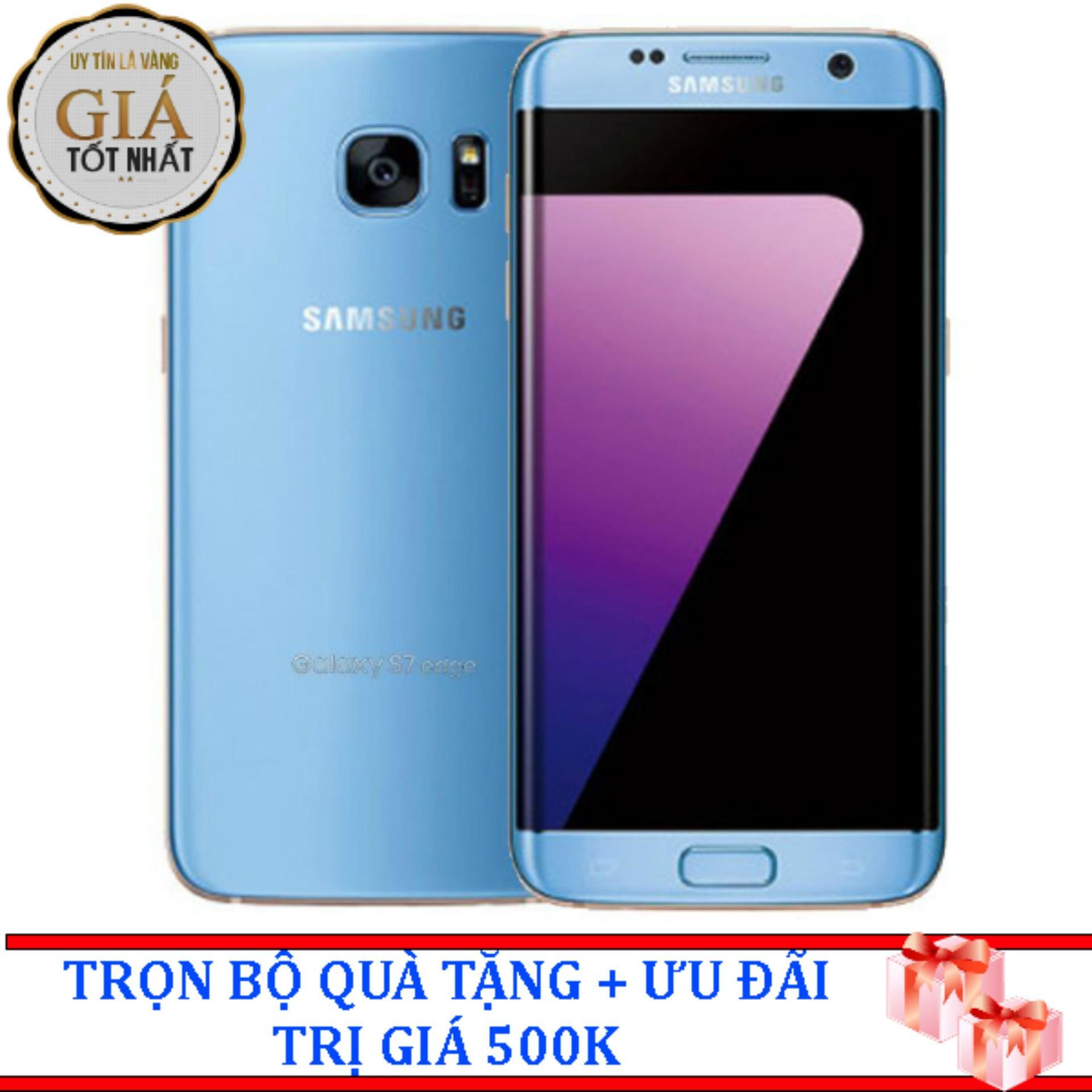 Bán Samsung Galaxy S7 Edge 32Gb Xanh Coral Hang Nhập Khẩu Mới