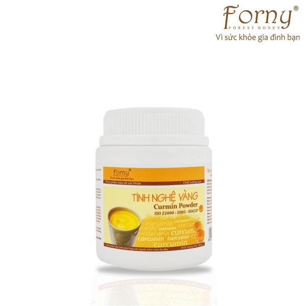 Tinh nghệ vàng Forny 100g (Hộp) (Đặc biệt phù hợp với người viêm loét dạ dày, phụ nữ sau sinh hồi phục sức khỏe và sắc đẹp, người sử dụng rượu bia thường xuyên, tốt cho hệ tiêu hóa) (tinh bột nghệ) (Tinh bột nghệ nguyên chất) nh