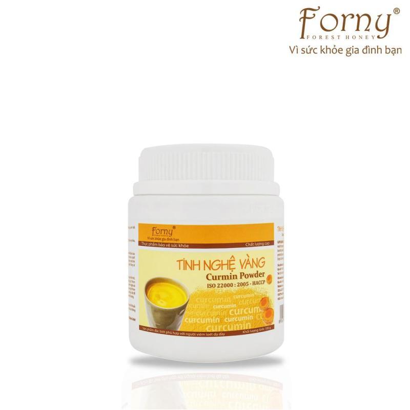 Tinh nghệ vàng Forny 100g FS (Hộp)(Đặc biệt phù hợp với người viêm loét dạ dày, phụ nữ sau sinh hồi phục sức khỏe và sắc đẹp, người sử dụng rượu bia thường xuyên, tốt cho hệ tiêu hóa) (tinh bột nghệ) (Tinh bột nghệ nguyên chất)