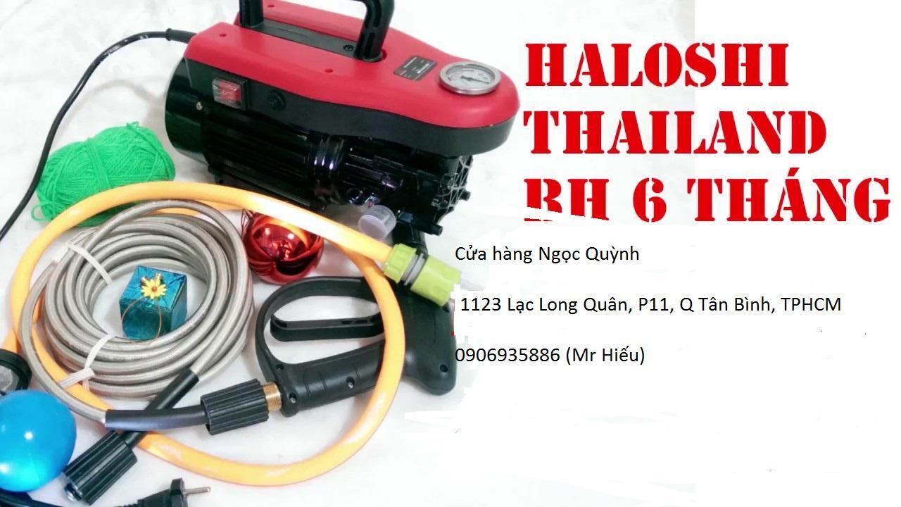 Máy rữa xe cao áp Haloshi Hl-H1 - Chuyên Dùng Rửa Xe