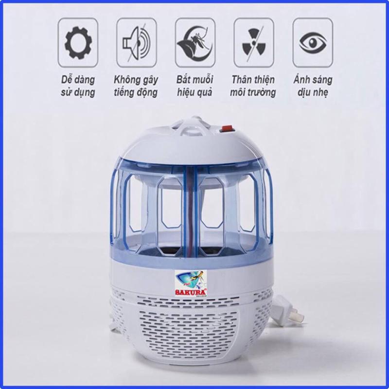 Máy bắt muỗi và diệt côn trùng (Hàng chất lượng cao KHÔNG Giá Rẻ) công suất lớn 5W Hút muỗi mạnh mẽ trong diện tích lớn
