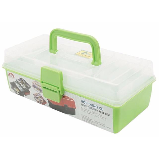 Hình ảnh Hộp đựng dụng cụ đa năng Tashing Plastic 2 ngăn