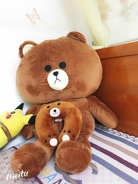 Hình ảnh Gấu Bông Brown cao 1m5 - Hàng Cao cấp