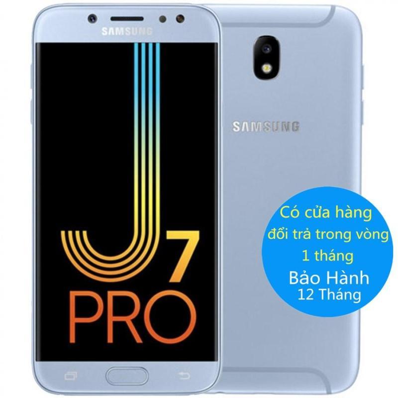Samsung Galaxy J7 Pro 2017 3GB RAM 2 sim (xanh lam) –Fullbox/Bảo Hành 12 Tháng