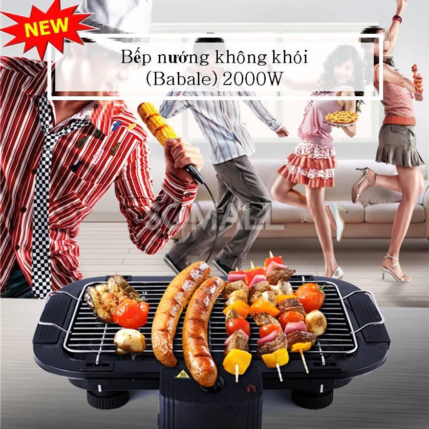 Bếp nướng không khói ( Babale) 2000W