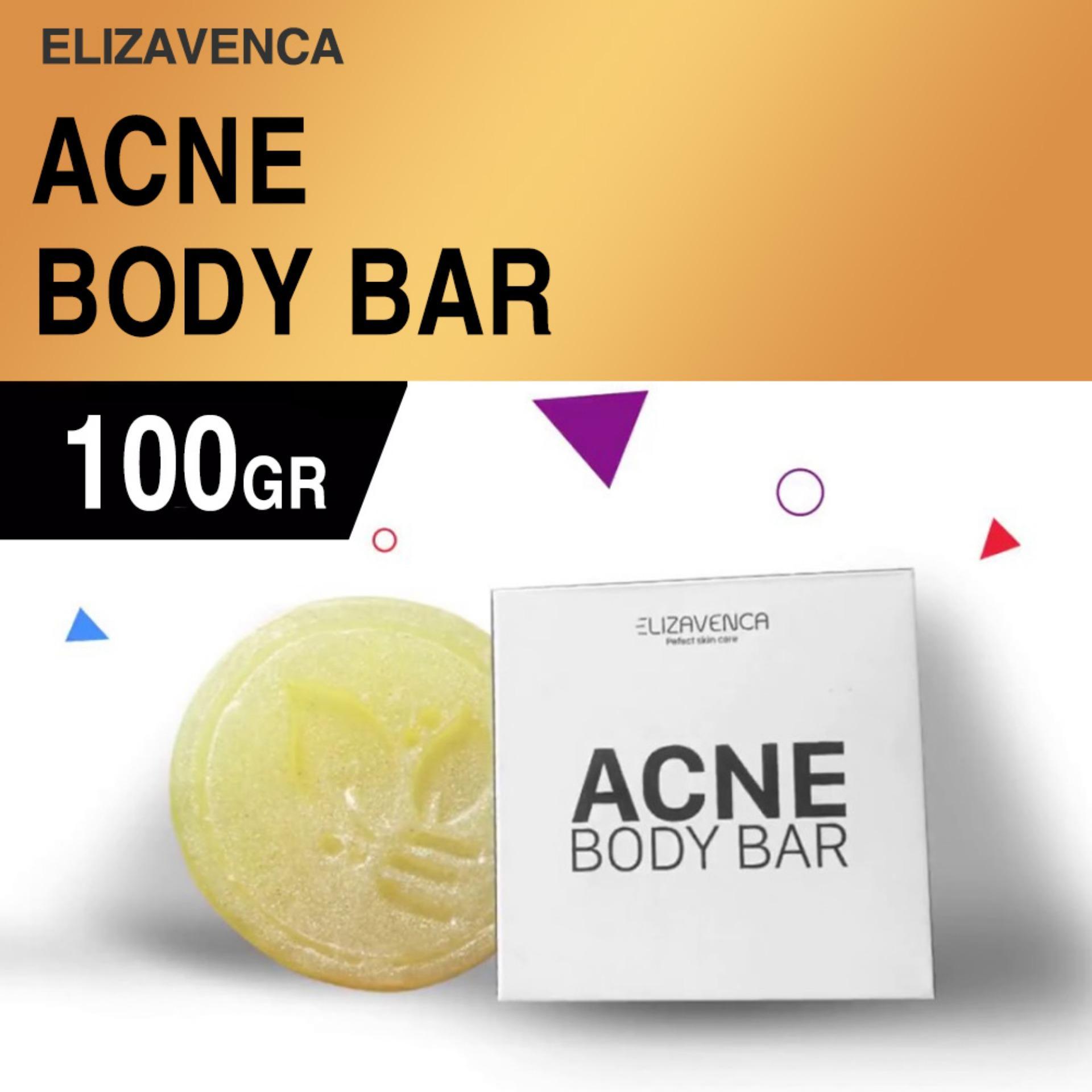 Xà phòng trị thâm mông vùng kín Elizavenca Acne Body Bar (Đặc trị mụn, thâm, xạm, viêm chân lông)