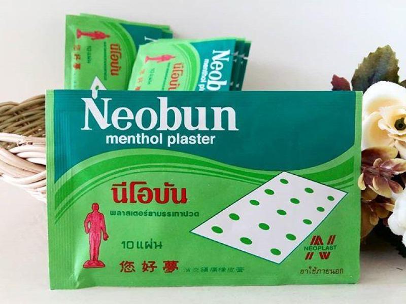 COMBO 20 MIẾNG DÁN GIẢM ĐAU NEOBUN MENTHOL PLASTER