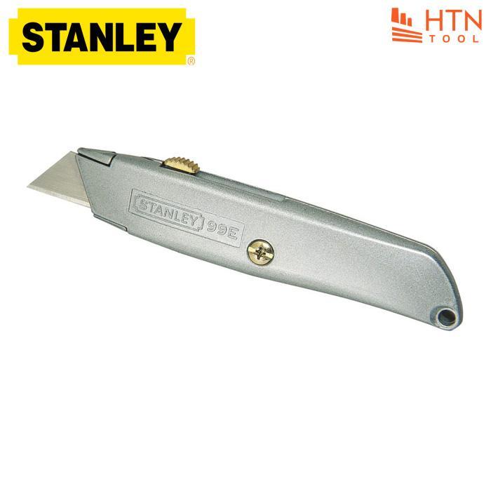 Dao rọc cáp cán nhôm Stanley 10-099 (Kèm 3 lưỡi)