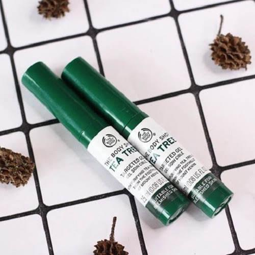 Chấm thâm mụn THE BODY SHOP Tea Tree Targeted Gel