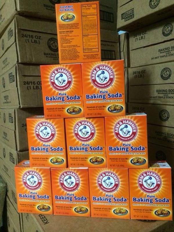 3 hộp Bột baking soda đa công dụng 454g - Mỹ