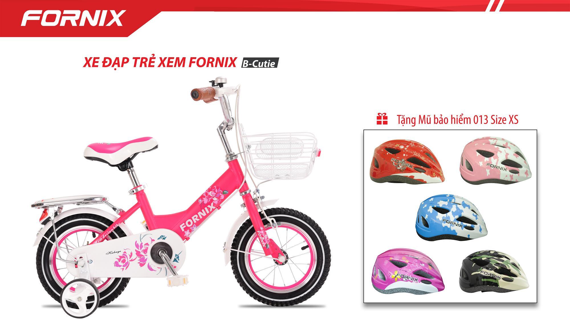 Xe đạp trẻ em vòng bánh 12 B-Cutie + tặng nón bảo hiểm A03NM13XS