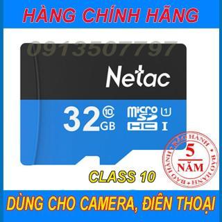 Thẻ nhớ 32G micro SD Netac - netac 32G, có tem dán thẻ, dùng lỗi đổi thẻ khác tặng thêm 20N thumbnail